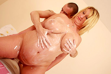 Big Belly BBW Enjoys Nasty Fucking