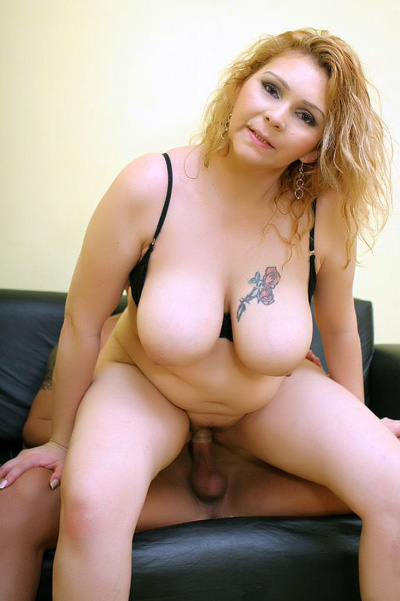 BBW videos of her coming soon! Chunky Blonde Flaunts Her Fat Tits